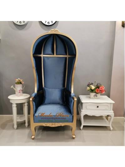เก้าอี้ Balloon Chair แกะสลัก สูง 175 ซม. สามารถเปลี่ยนสีโครงสีผ้าได้
