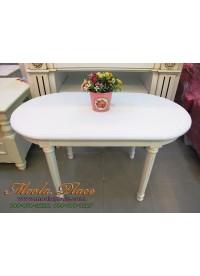 โต๊ะกลางชุดรับแขก ทรงวงรี สไตล์วินเทจ ขนาด กว้าง 90 x ลึก 45 x สูง 50 ซม.