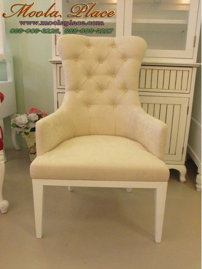เก้าอี้วินเทจทรงโอบ หุ้มกำมะหยี มีหลายเฉดสีให้เลือก