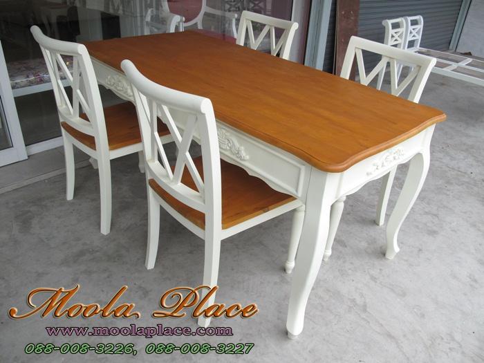 โต๊ะรับประทานอาหาร, โต๊ะวินเทจ, โต๊ะทานข้าวสีขาว, โต๊ะทานข้าว, เฟอร์นิเจอร์วินเทจ, เฟอร์นิเจอร์, เฟอร์นิเจอร์สีขาว เฟอร์นิเจอร์ vintage, เฟอร์นิเจอร์แนวเจ้าหญิง