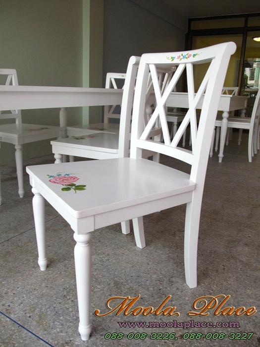 โต๊ะรับประทานอาหาร, โต๊ะวินเทจ, โต๊ะทานข้าวสีขาว, โต๊ะทานข้าว