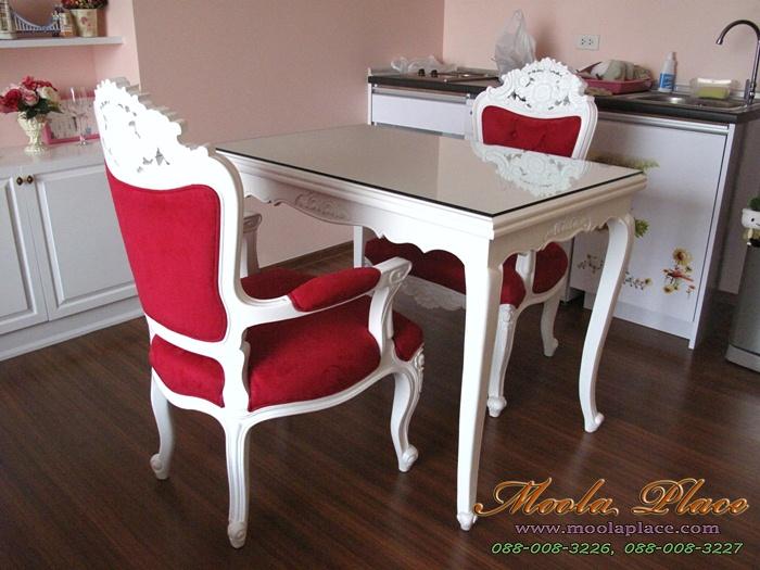 โต๊ะรับประทานขาสิงห์ แกะลายสไตล์หลุยส์วินเทจ แกะลายสไตล์หลุยส์ เฟอร์นิเจอร์ไม้จริง รับผลิตเฟอร์นิเจอร์วินเทจ