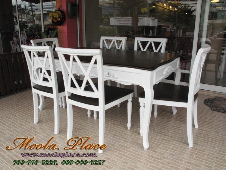 โต๊ะรับประทานอาหารวินเทจ อยากซื้อโต๊ะทานข้าววินเทจแนะนำ