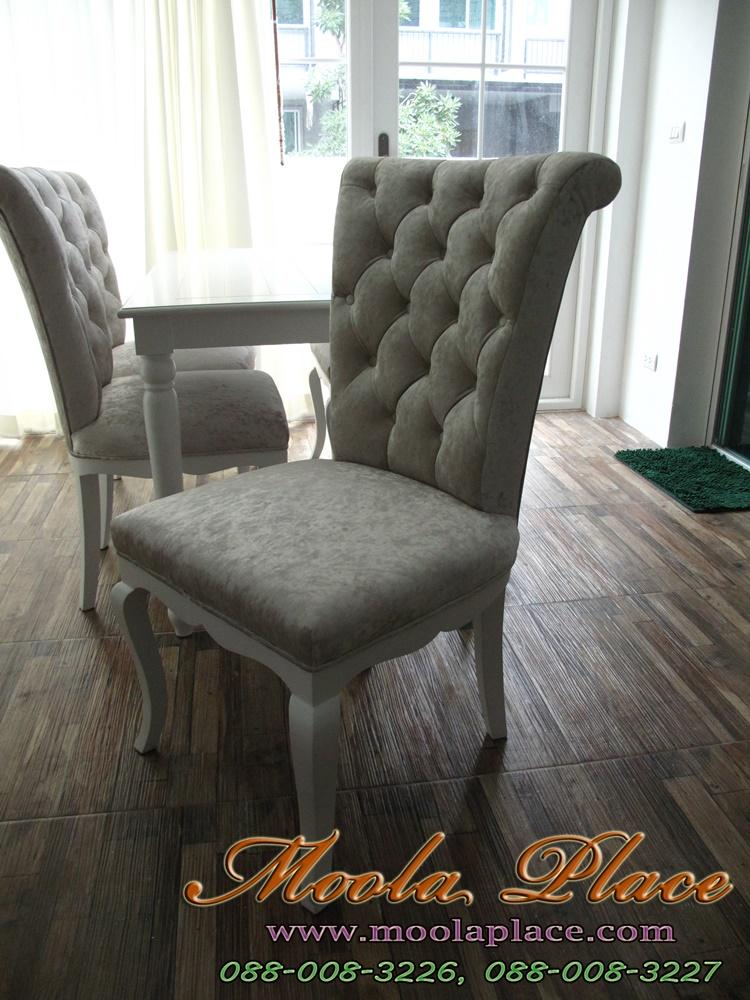 เก้าอี้รับประทานอาหาร วินเทจ เพ้นท์ เฟอร์นิเจอร์เพ้นท์ วินเทจ