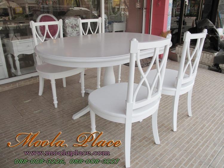 โต๊ะรับประทานอาหารทรงวงรี ขนาด 150 x 100 x 75 ซม.  เก้าอี้ตัวละ 3,200 บาท  โต๊ะรับประทานอาหารทรงกลม แกะลายสไตล์หลุยส์ แบบวินเทจสวยๆ โต๊ะรับประทานอาหารทรงวงรี ขนาด 150 x 100 x 75 ซม.  โต๊ะรับประทานอาหารวินเทจ อยากได้โต๊ะอาหาร แบบโต๊ะอาหารแจ่มๆ