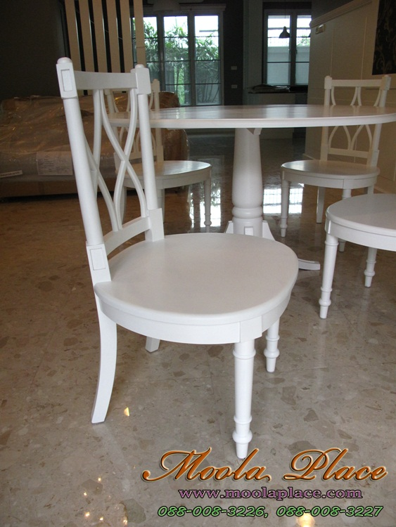 โต๊ะรับประทานอาหารทรงกลม หลุยส์ วินเทจ โต๊ะรับประทานอาหารทรงกลม