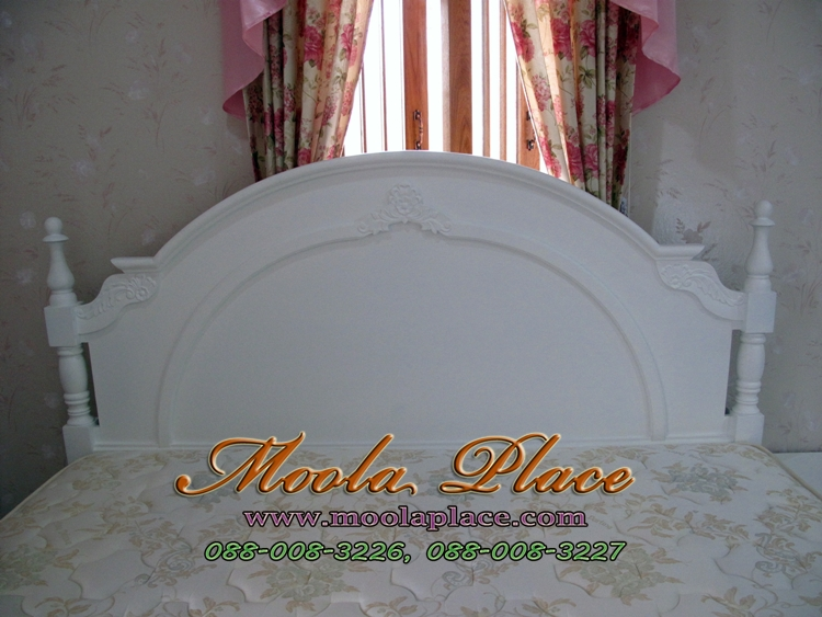 เตียงนอนสีขาว อย่างหาซื้อเตียงใหม่ เตียงนอนสไตล์วินเทจ